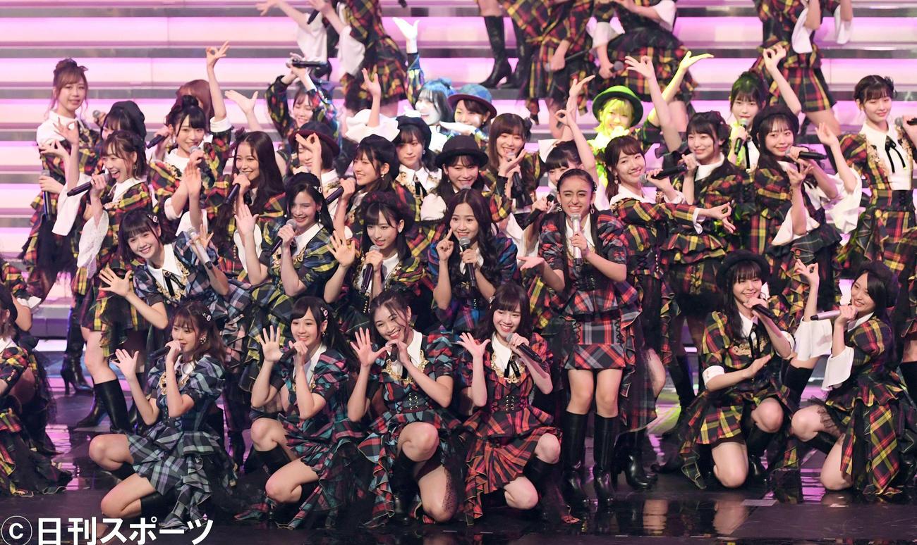 AKB48(2019年12月31日撮影)
