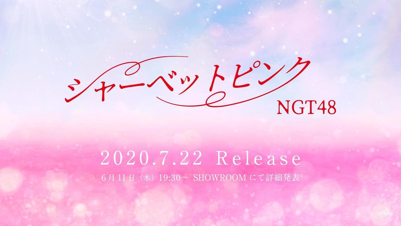 1年9カ月ぶりのシングル発売が決まったNGT48