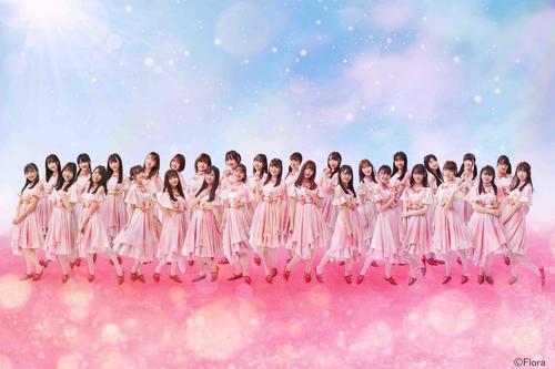 1年9カ月ぶりのシングル「シャーベットピンク」のティザー映像が公開されたNGT48(C)Flora