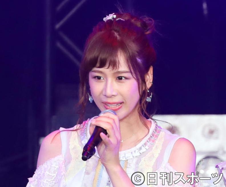 AKB48大家志津香(2018年撮影)
