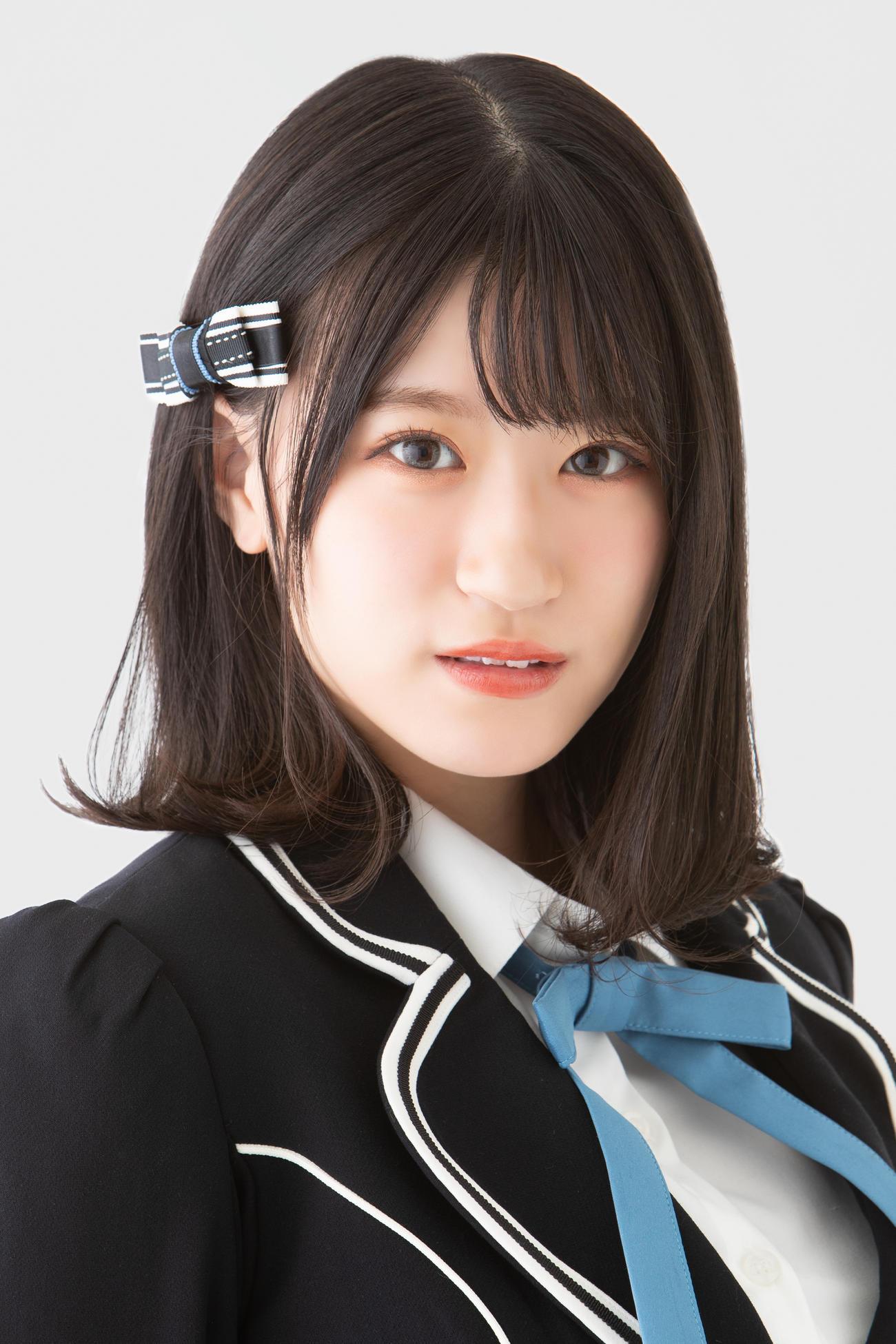 初写真集のメーキング映像発売が決まったNMB48の上西怜(C)NMB48