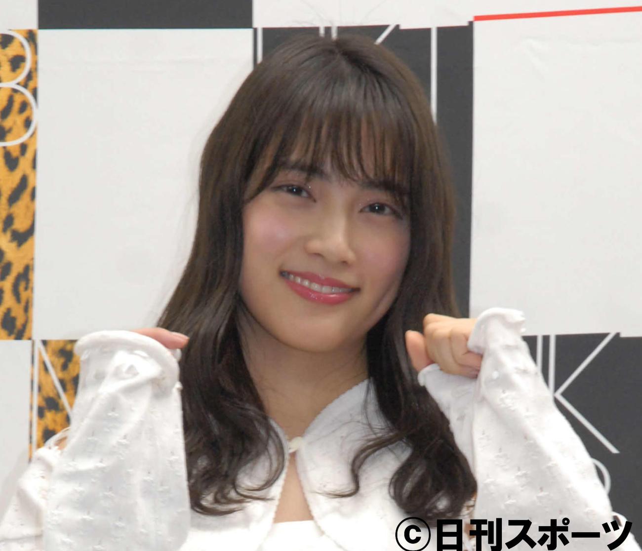 AKB48入山杏奈(2018年3月10日撮影)