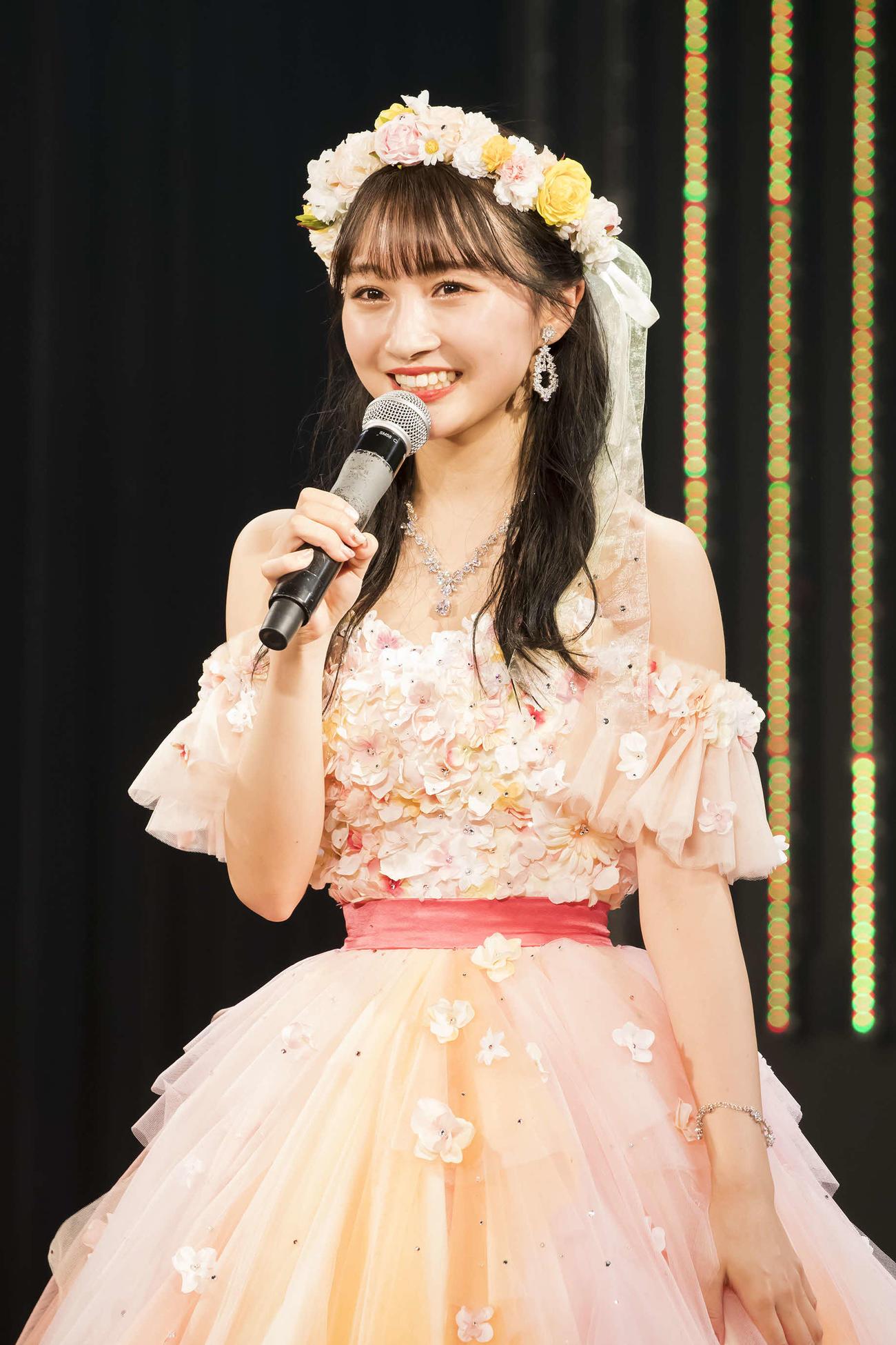 卒業公演を行ったNMB48山本彩加(C)NMB48