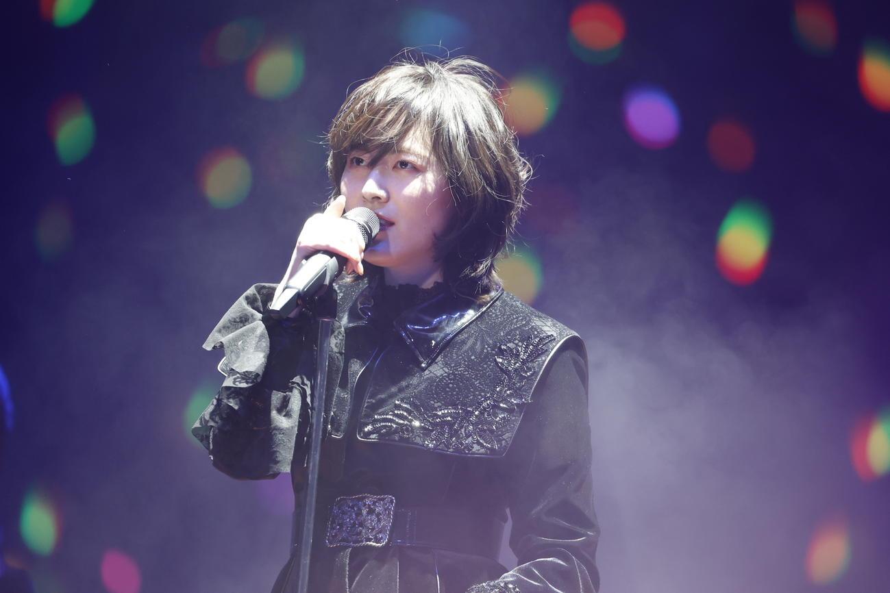 卒業コンサート夜公演中にショートカットにするサプライズを見せた松井珠理奈(C)2021 Zest,Inc./AEI