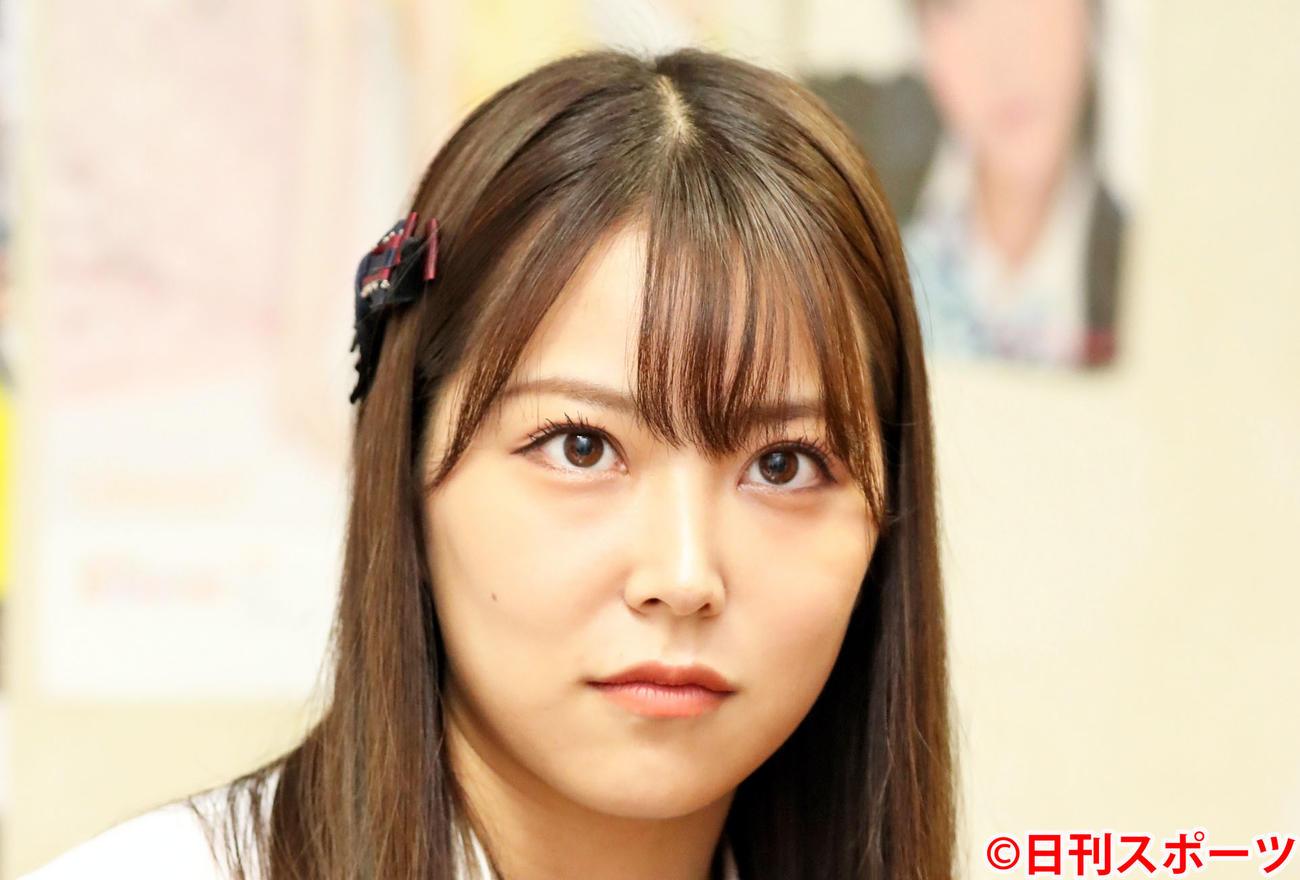 白間美瑠(2020年9月22日撮影)