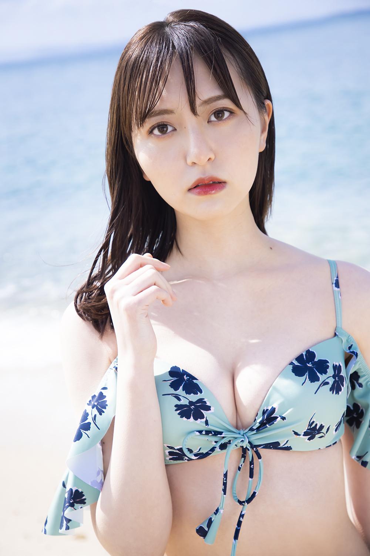 ラストフォトブック「スコア」の先行カットを公開したHKT48森保まどか(C)KADOKAWA (C)Mercury PHOTO/TANAKA TOMOHISA