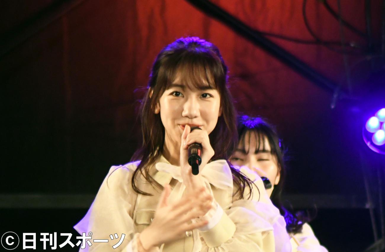 AKB48柏木由紀(2020年10月18日撮影)