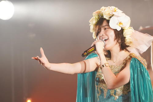 卒業公演でドレス姿で歌うSKE48松井珠理奈(c)2021 Zest,Inc.