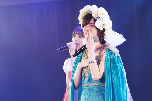 卒業公演で涙を見せるSKE48松井珠理奈(c)2021 Zest,Inc.