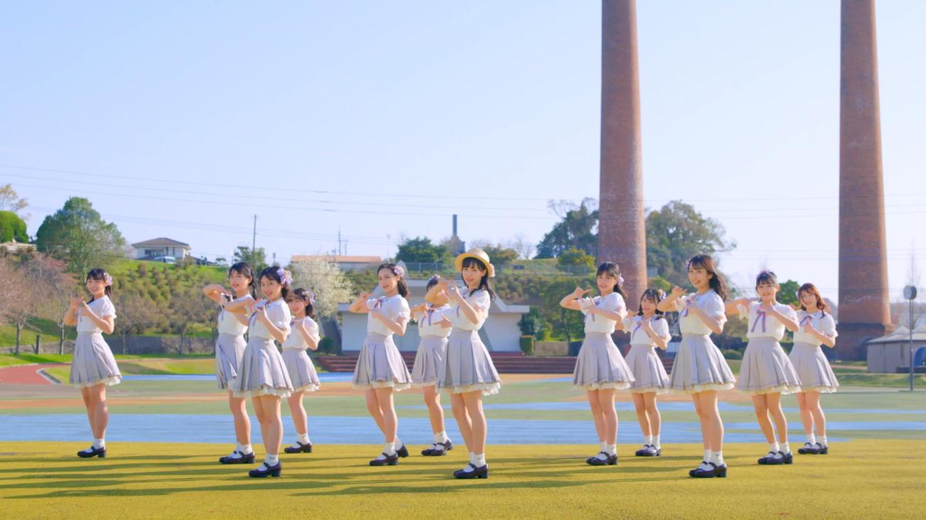 最新シングル「君とどこかへ行きたい」のみずほ選抜のミュージックビデオ(C)Mercury