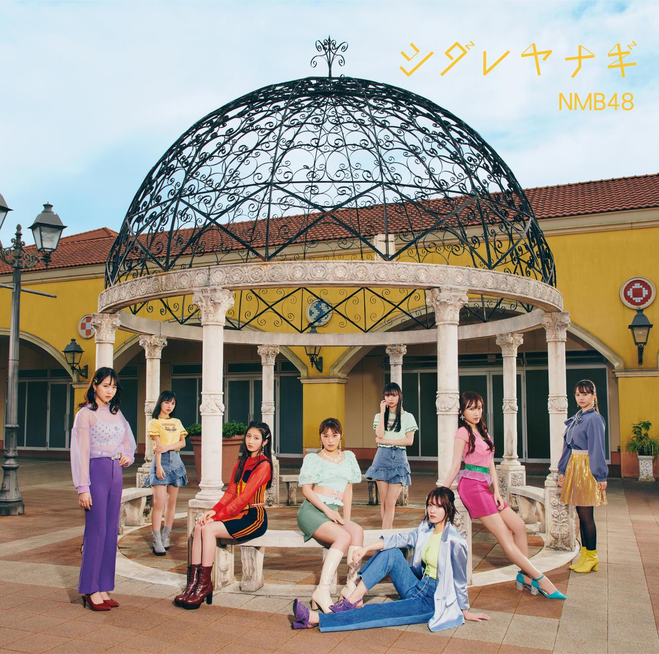 25枚目シングル「シダレヤナギ」タイプCのジャケと写真(C)NMB48