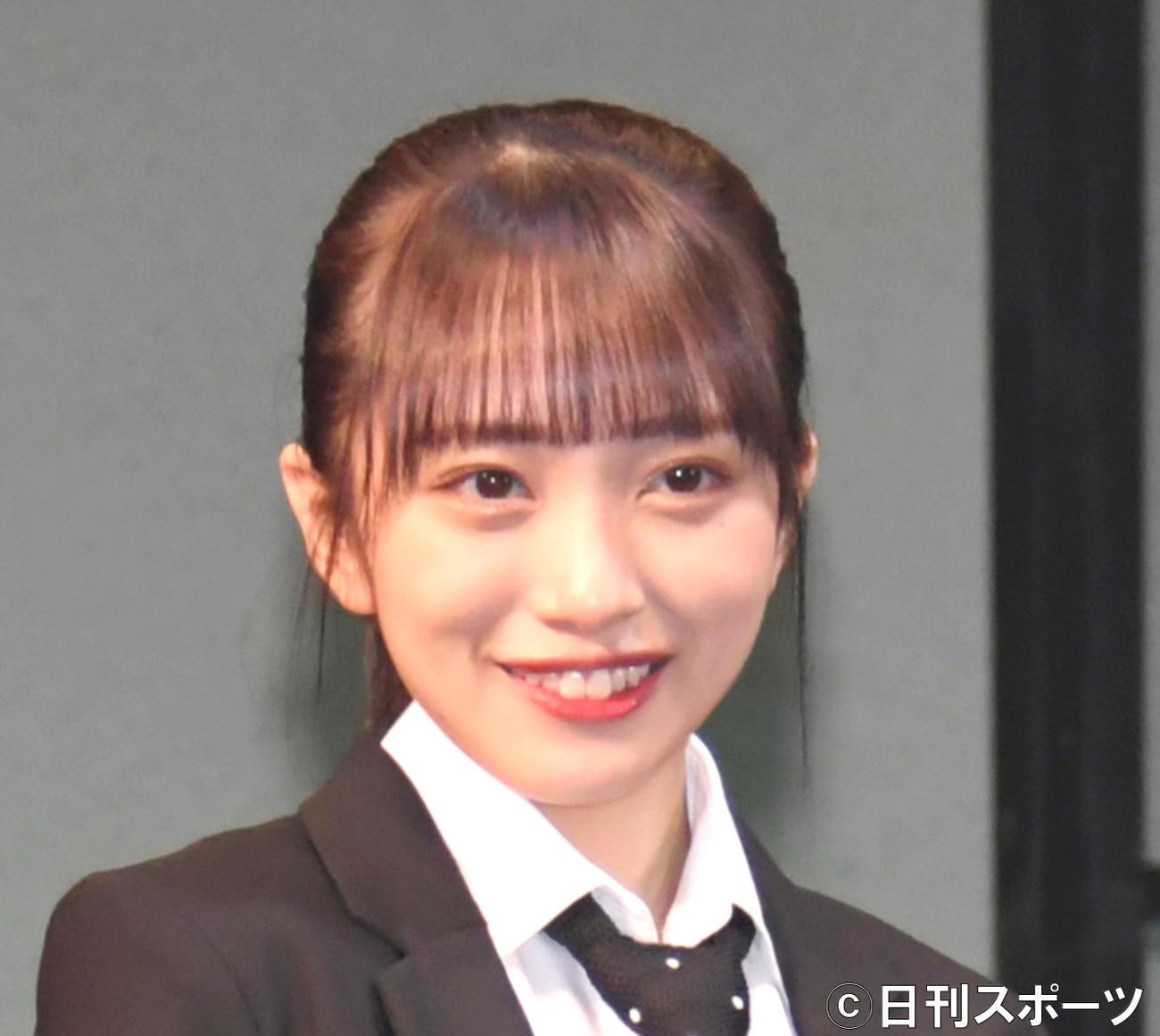 向井地美音(2021年6月撮影)