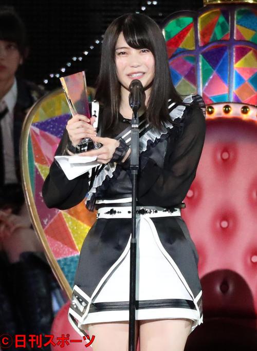 AKB48グループ新聞 第10回世界選抜総選挙 6位の横山由依(2018年6月16日撮影)
