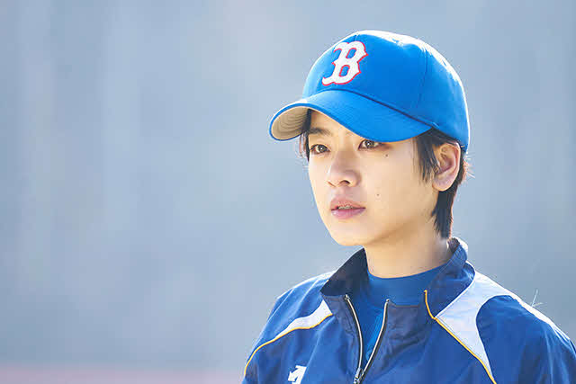 「野球少女」主人公のスインを演じるイ・ジュヨン(C)2019 KOREAN FILM COUNCIL. ALL RIGHTS RESERVED