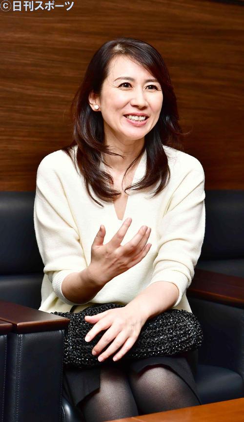 ナレーションで高い評価を受けるTBS堀井美香アナウンサー(撮影・小沢裕)