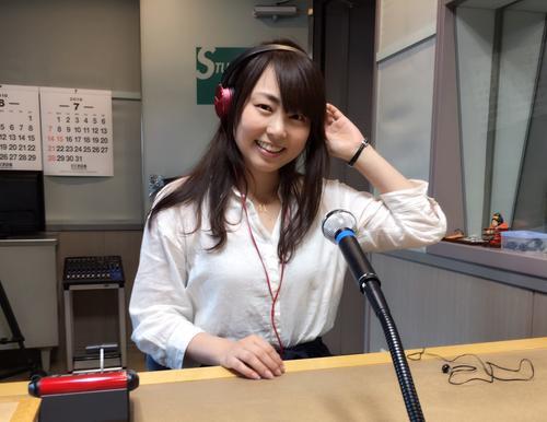 ラジオ日本・CM収録スタジオにて