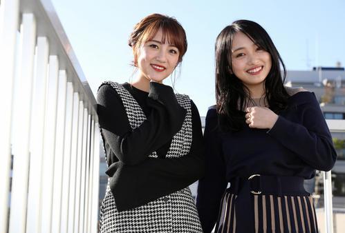 Photo of 向井地美音が高橋みなみと初対談「総監督論」聞いた