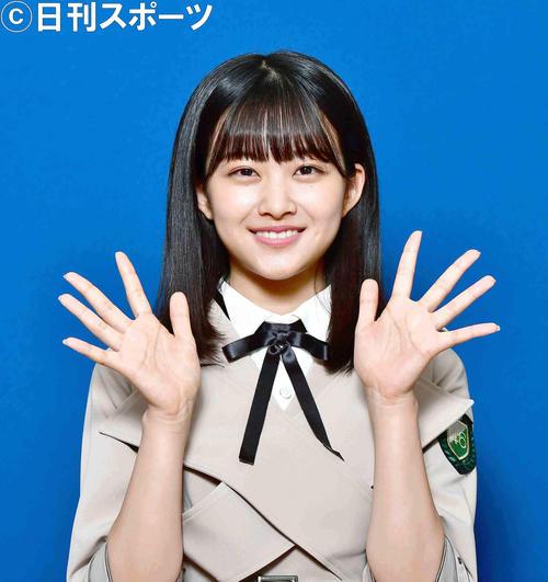大学受験を終えてメンバーに復帰した欅坂46の原田葵(撮影・小沢裕)