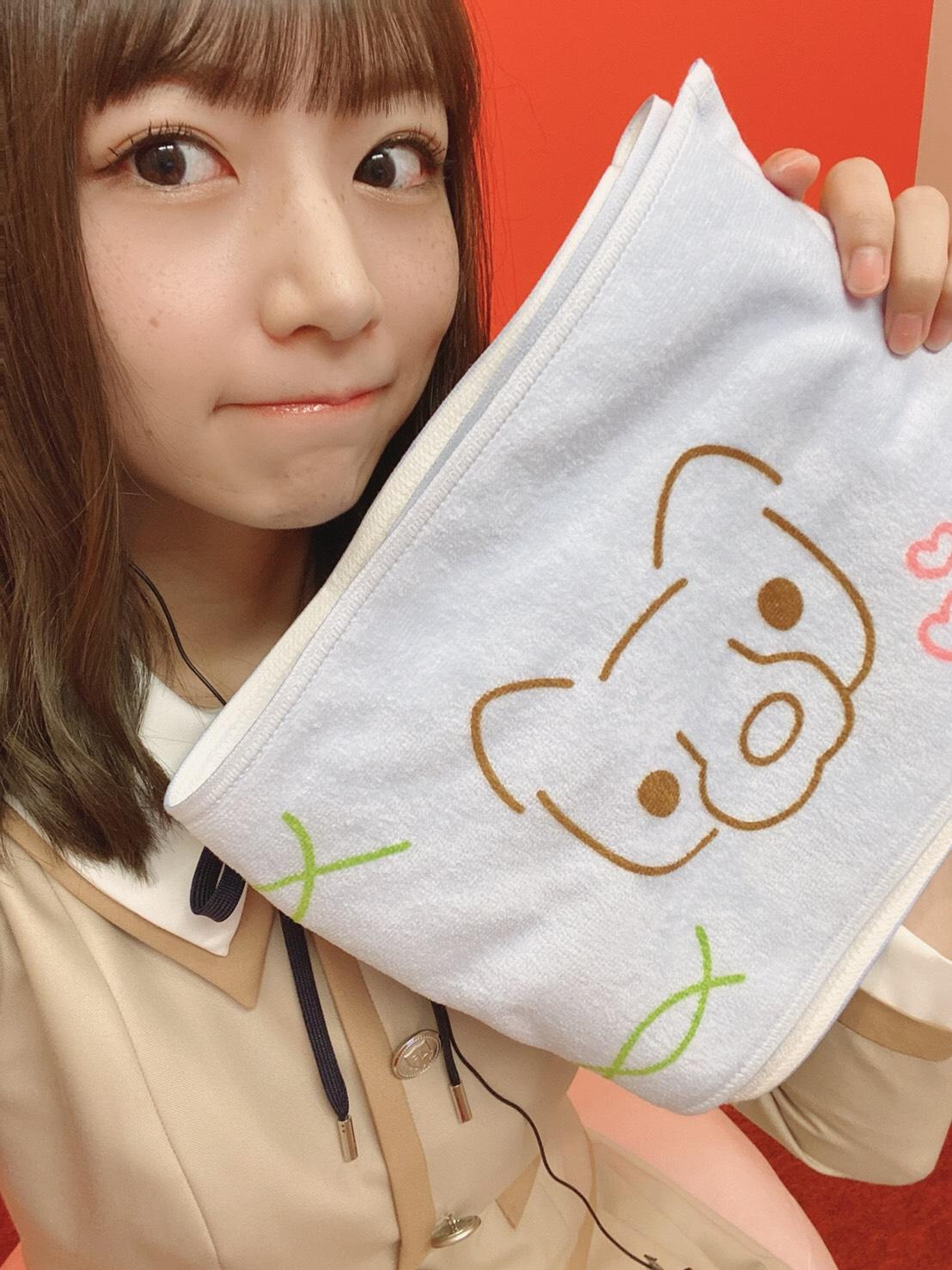 「乃木坂46時間TV」の個人ブースで笑顔を見せる北野日奈子
