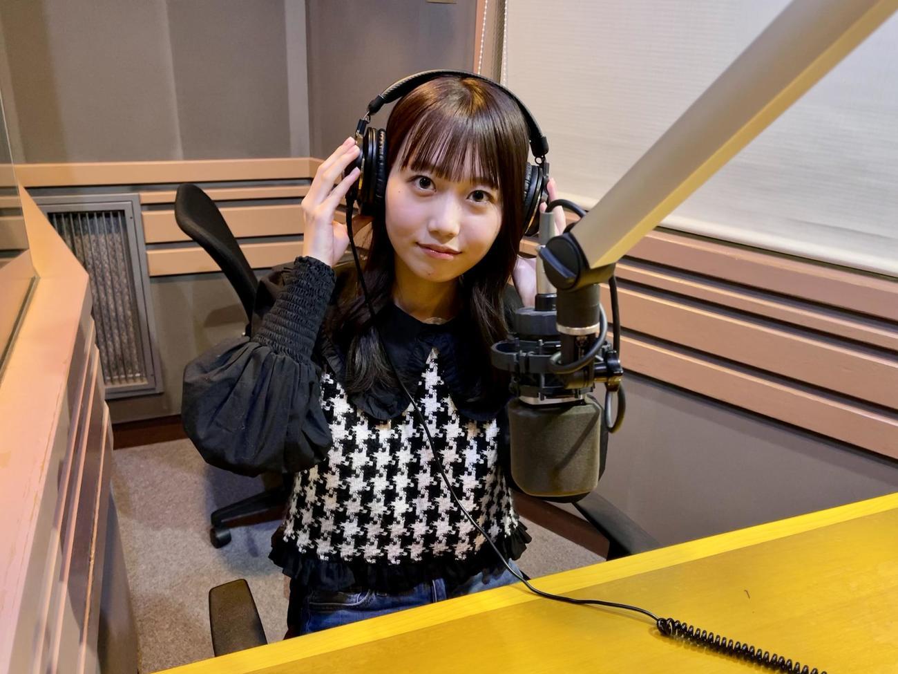 FM FUJI「タイムちゃん」でアシスタントを務める矢久保美緒