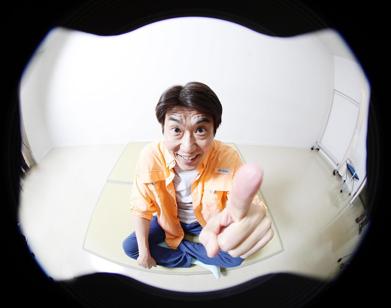 4月から新番組も始まり、意欲を見せる石橋貴明(撮影・浅見桂子)