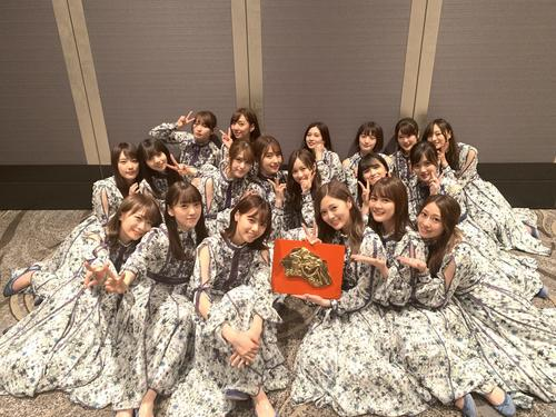 Photo of Nogizaka 46 Ransei Terada 好 き Shiraishi likes not decorating with tea