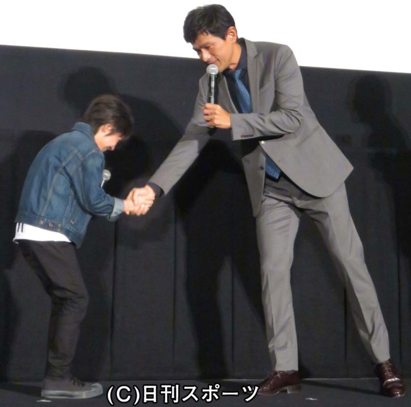 江口洋介、子役の田口翔大から感...