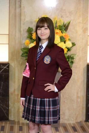 「ぐるぐるナインティナイン」でのゴチ制服姿を初披露した橋本環奈(C)日本テレビ