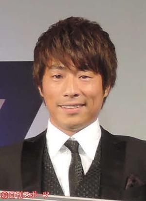 田村淳(2015年1月29日撮影)