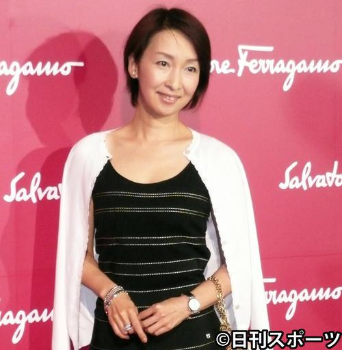 浜尾朱美さん(2007年5月17日撮影)