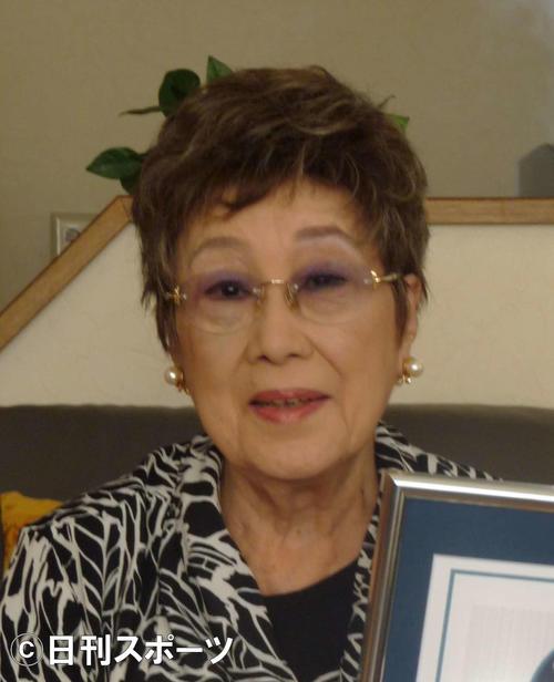 赤木春恵さん(13年11月撮影)