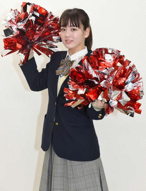 TBS系で7月から放送される「チア☆ダン」に出演する、大阪府立登美丘高ダンス部の元キャプテン・伊原六花(C)TBS