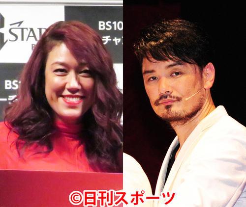 純烈の小田井涼平(右)とLILICo