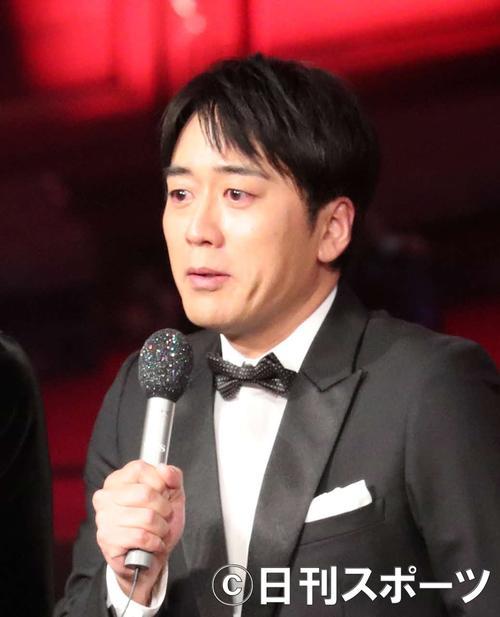 安住紳一郎アナウンサー(17年12月30日撮影)