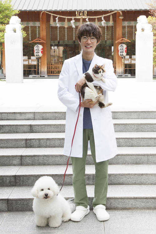 「僕とシッポと神楽坂」で獣医師役に初挑戦する相葉雅紀
