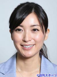 大江麻理子アナ、メガネの理由は「結膜下出血」 - 女子アナ : 日刊スポーツ