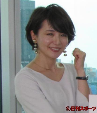 大橋未歩(2017年3月28日撮影)