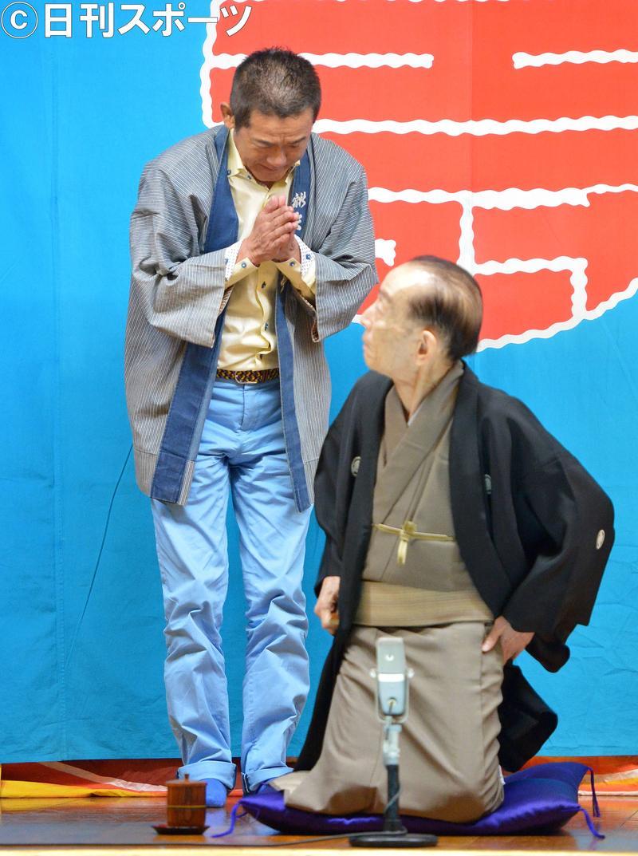 歌丸 円楽 『笑点』メンバー、桂歌丸さんを追悼 円楽「最後の父親との別れです」