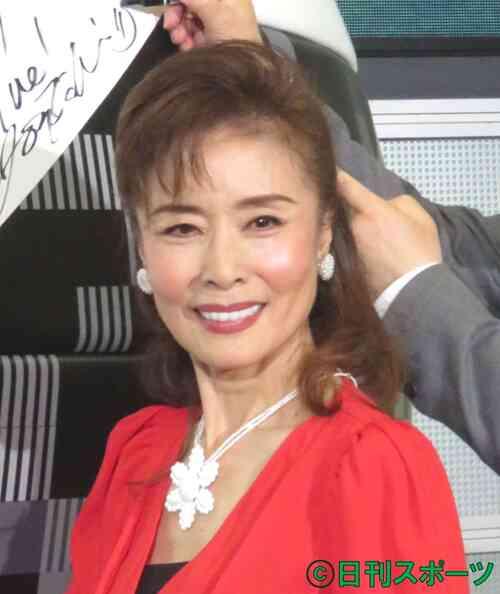 小柳ルミ子(2018年6月11日撮影)