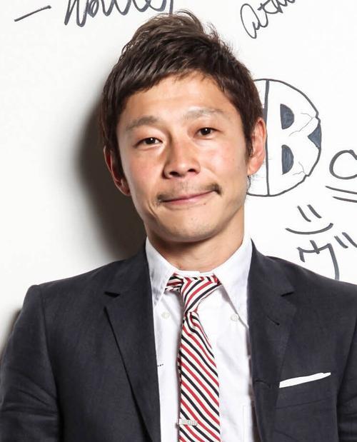 前沢友作社長(2018年4月25日)