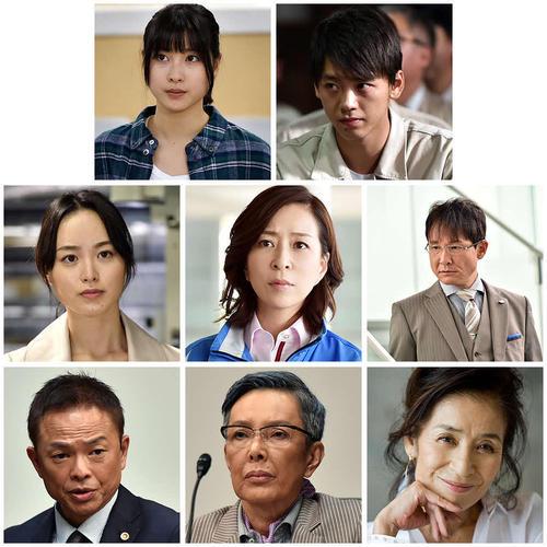 TBS系で10月スタートの日曜劇場「下町ロケット」に出演する俳優陣(C)TBS