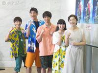 「タイヨウのうた~Midnight Sun~」の出演者たち。左から藤原丈一郎、松崎祐介、辰巳雄大、柏木ひなた、高橋恵子