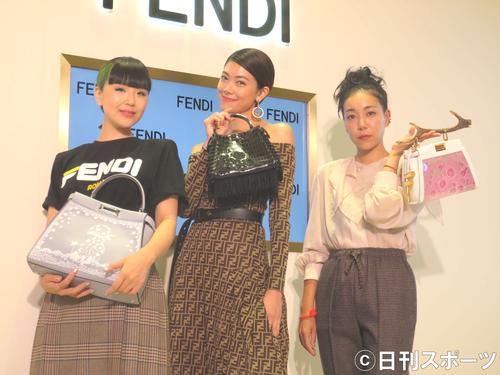 左からゆう姫、森星、安藤桃子