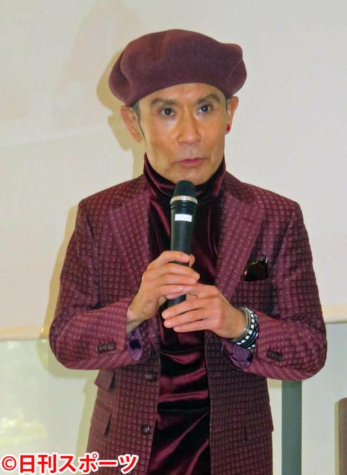 片岡鶴太郎(2018年2月4日撮影)