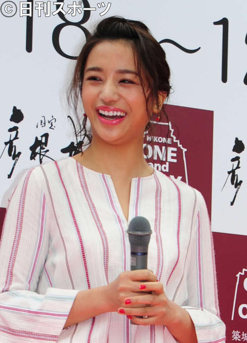 高橋メアリージュン(17年3月撮影)