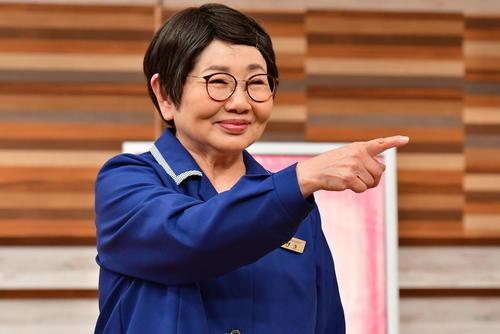 TBS系「ピン子、通販やるってよ」に出演する泉ピン子