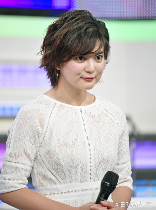 MUSIC STATION 新サブMCお披露目会見 新サブMCに決まった並木万里菜(撮影・滝沢徹郎)
