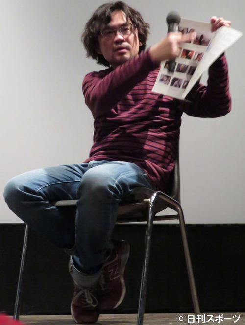 映画「どこでもない、ここしかない」トークイベントに登壇したリム・カーワイ監督(撮影・村上幸将)