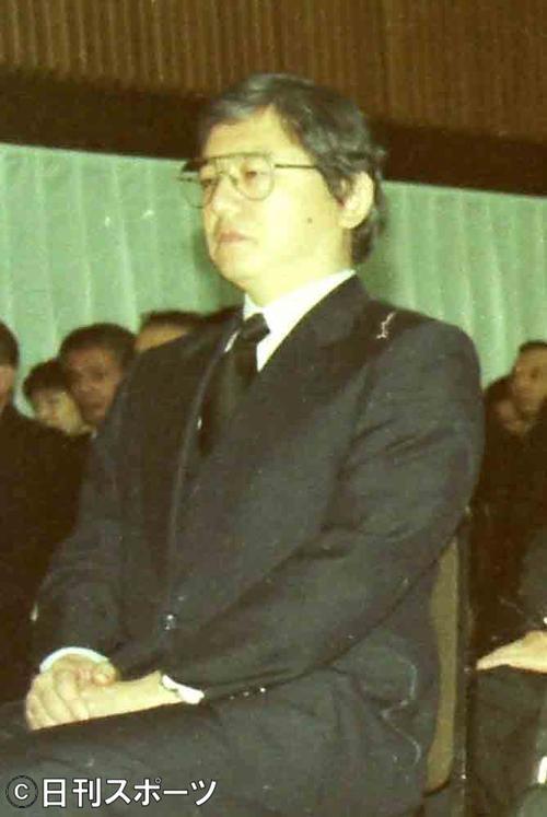 松倉悦郎氏(1993年12月26日撮影)