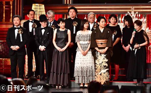 第 42 回 日本 アカデミー 賞 受賞 者